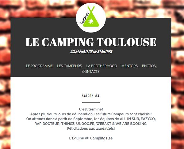 Unooc au Camping Toulouse